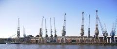 Alte Hafenkräne