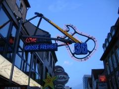 Zum Schluss des Stadtrundgang Hamburg Kompakt geht es auch noch auf die Reeperbahn