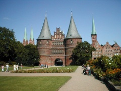 holstentor in luebeck