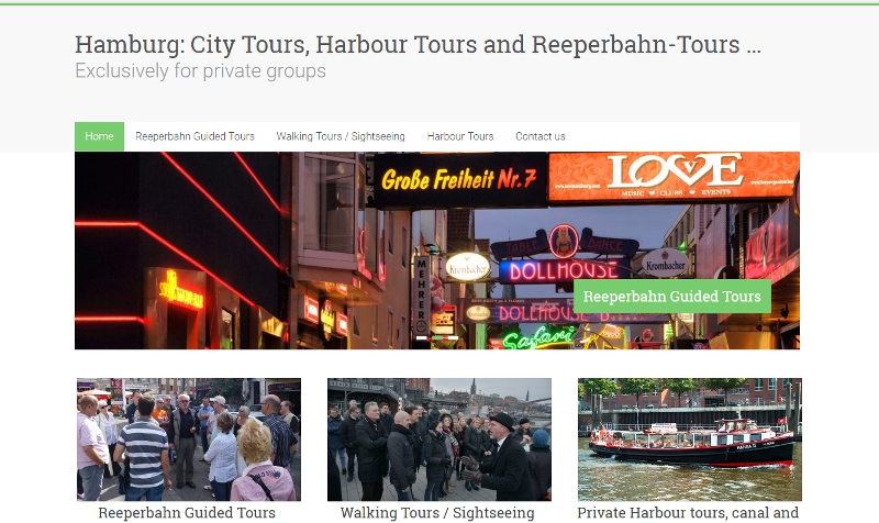 City Walking Tours and Harbour Tours