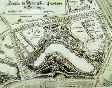Botanischer Garten um 1897