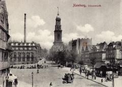 Der Schaarmarkt um 1905