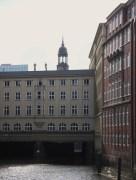 Stadthaus Rückfront mit Seufzerbrücke