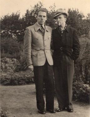 Kongo mit Freund (Sept. 1940)